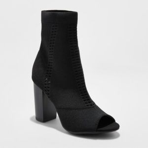 A New Day Women's Florentina Knit Sock Booties